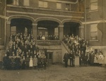 Students and Faculty, 1907 by Seattle Seminary