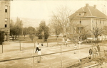 Campus Tennis Court, 1910 by Seattle Seminary