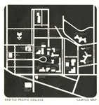 Seattle Pacific College Campus Map, 1968