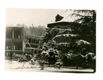 Campus Construction in Winter, circa 1953