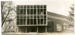 Moyer Hall Under Construction, circa 1954 by Seattle Pacific College