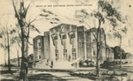 Sketch of McKinley Hall, circa 1939