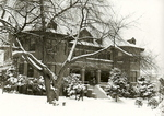 Peterson Hall in Snow, circa 1962
