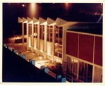 Gwinn Commons at Night, circa 1965 by Seattle Pacific College