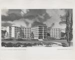 Ashton Hall Architect's Drawing, circa 1964 by Seattle Pacific College