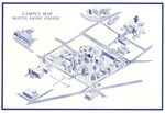 Seattle Pacific College Campus Map, 1966 by Seattle Pacific College